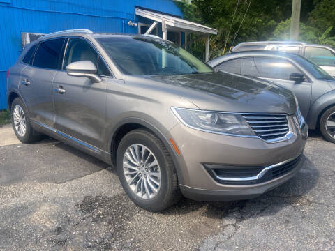 2017 Lincoln MKX for sale at The Peoples Car Company in Jacksonville FL
