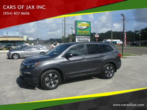 2017 Honda Pilot for sale at CARS OF JAX INC. in Jacksonville FL