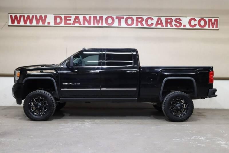 2015 GMC Sierra 2500HD for sale at Dean Motor Cars Inc in Houston TX