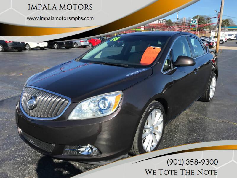 2016 Buick Verano for sale at IMPALA MOTORS in Memphis TN