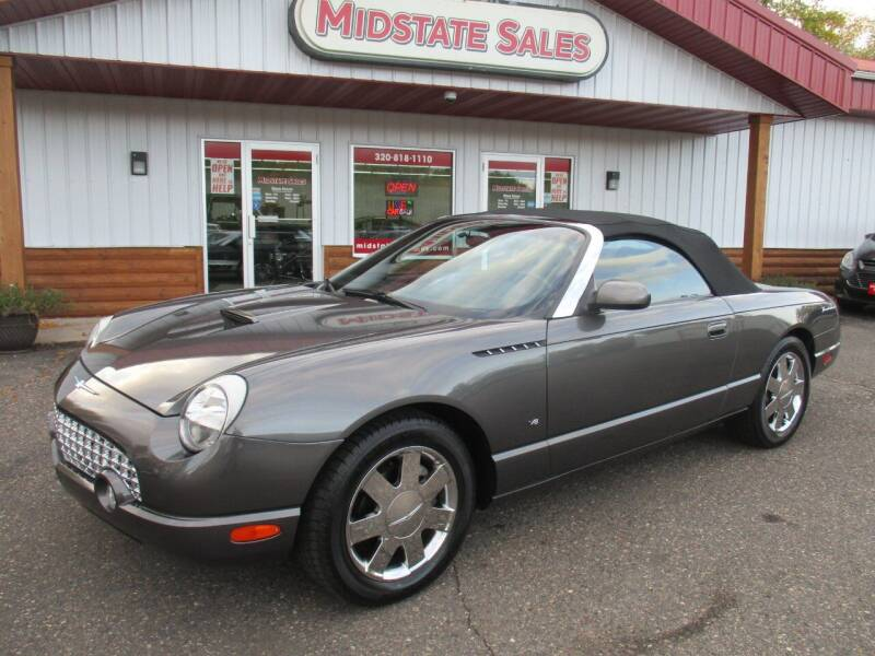 2003 Ford Thunderbird for sale at Midstate Sales in Foley MN