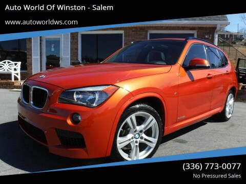 2014 BMW X1 for sale at Auto World Of Winston - Salem in Winston Salem NC