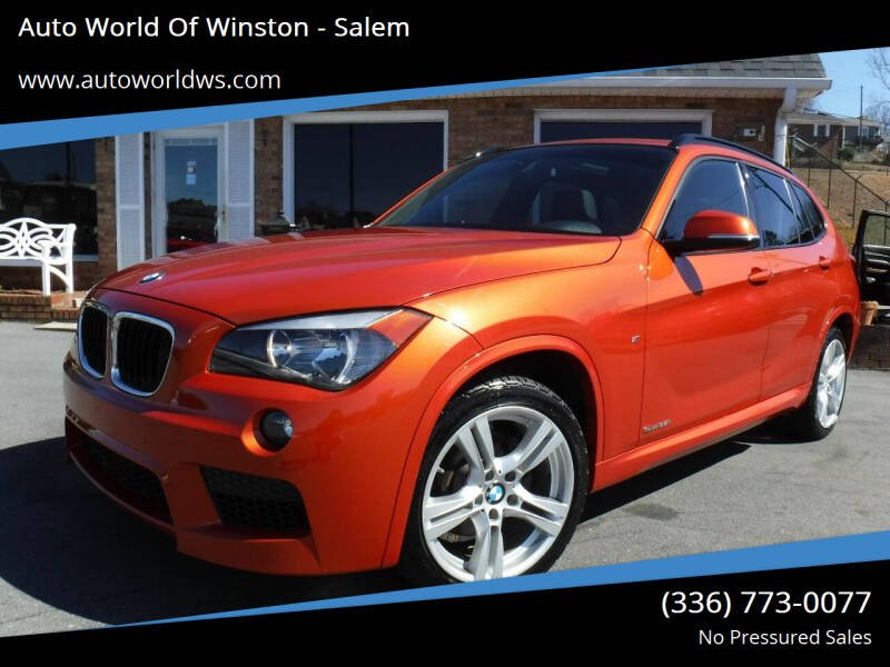 2014 BMW X1 for sale at Auto World Of Winston - Salem in Winston Salem NC