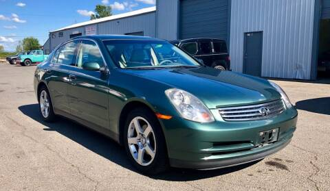2003 Infiniti G35 for sale at DASH AUTO SALES LLC in Salem OR