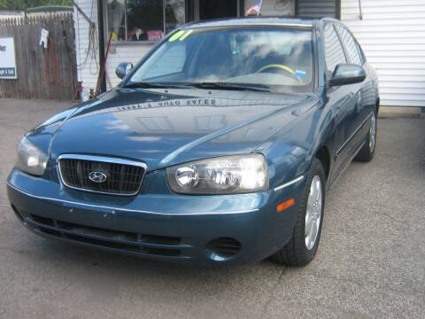 2001 Hyundai Elantra for sale at JERRY'S AUTO SALES in Staten Island NY