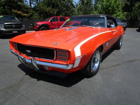 1969 Chevrolet Camaro for sale at LULAY'S CAR CONNECTION in Salem OR