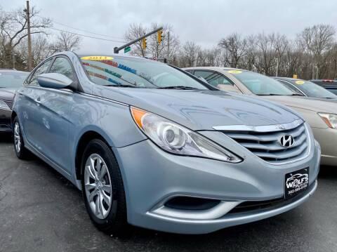 2011 Hyundai Sonata for sale at WOLF'S ELITE AUTOS in Wilmington DE