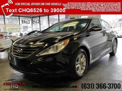 2014 Hyundai Sonata for sale at CERTIFIED HEADQUARTERS in St James NY