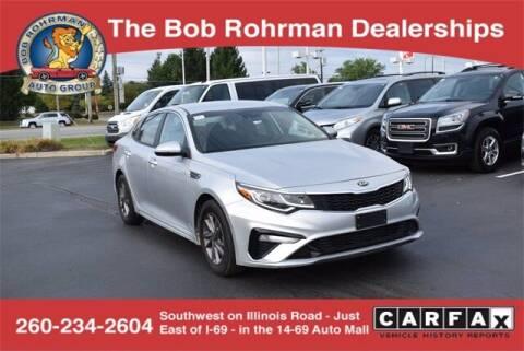 2020 Kia Optima for sale at BOB ROHRMAN FORT WAYNE TOYOTA in Fort Wayne IN