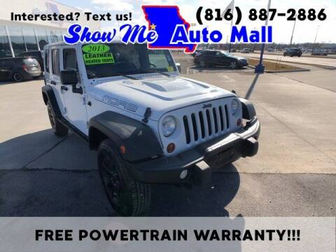 2013 Jeep Wrangler Unlimited for sale at Show Me Auto Mall in Harrisonville MO