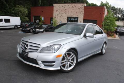 2013 Mercedes-Benz C-Class for sale at Atlanta Unique Auto Sales in Norcross GA