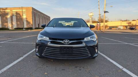 2016 Toyota Camry for sale at Shah Motors LLC in Paterson NJ