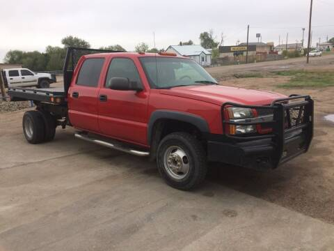 2004 Chevrolet Silverado 3500 for sale at All Affordable Autos in Oakley KS