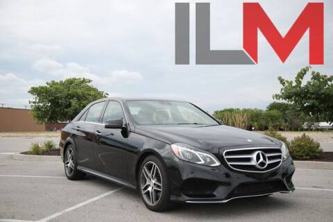 2014 Mercedes-Benz E-Class for sale at INDY LUXURY MOTORSPORTS in Fishers IN