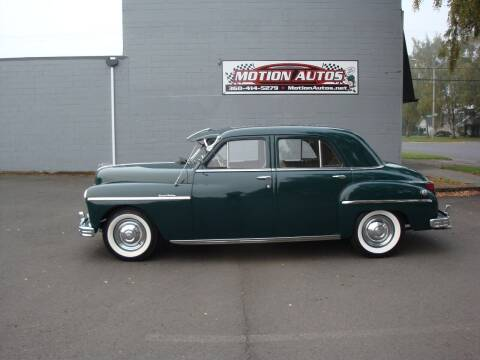 1949 Plymouth Deluxe for sale at Motion Autos in Longview WA