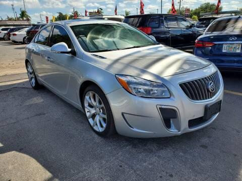 2012 Buick Regal for sale at America Auto Wholesale Inc in Miami FL