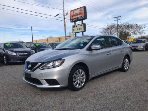 2016 Nissan Sentra for sale at Autohaus of Greensboro in Greensboro NC