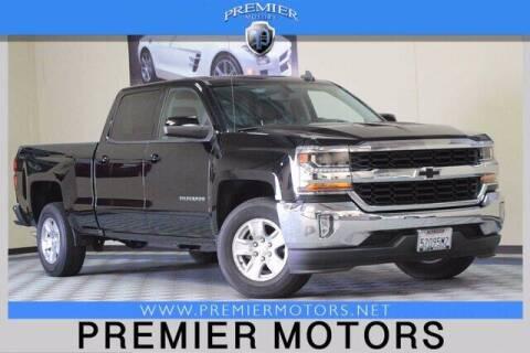 2018 Chevrolet Silverado 1500 for sale at Premier Motors in Hayward CA