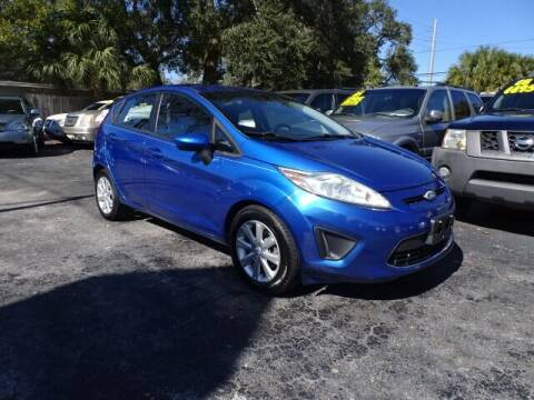 2011 Ford Fiesta for sale at DONNY MILLS AUTO SALES in Largo FL