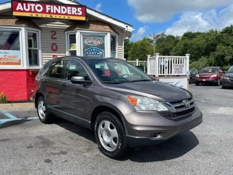 2011 Honda CR-V for sale at Auto Finders Unlimited LLC in Vineland NJ