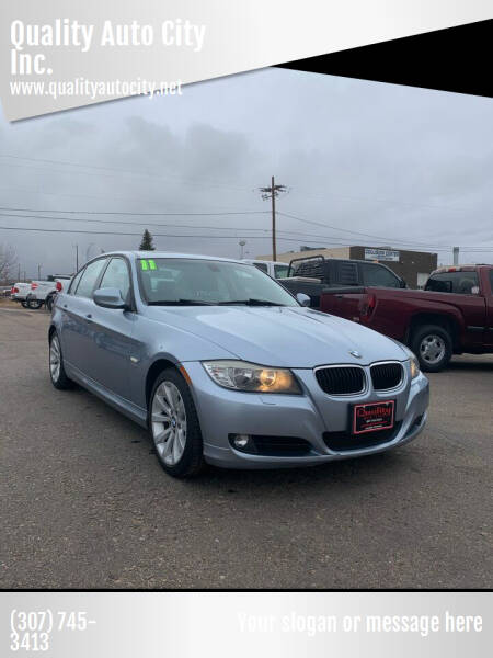 2011 BMW 3 Series for sale at Quality Auto City Inc. in Laramie WY