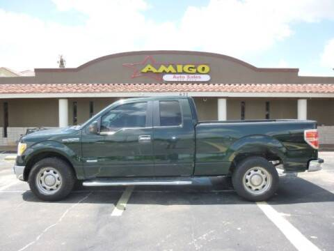 2013 Ford F-150 for sale at AMIGO AUTO SALES in Kingsville TX