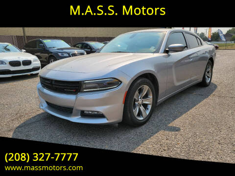 2015 Dodge Charger for sale at M.A.S.S. Motors in Boise ID