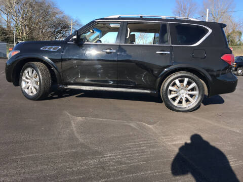 2011 Infiniti QX56 for sale at Beckham's Used Cars in Milledgeville GA