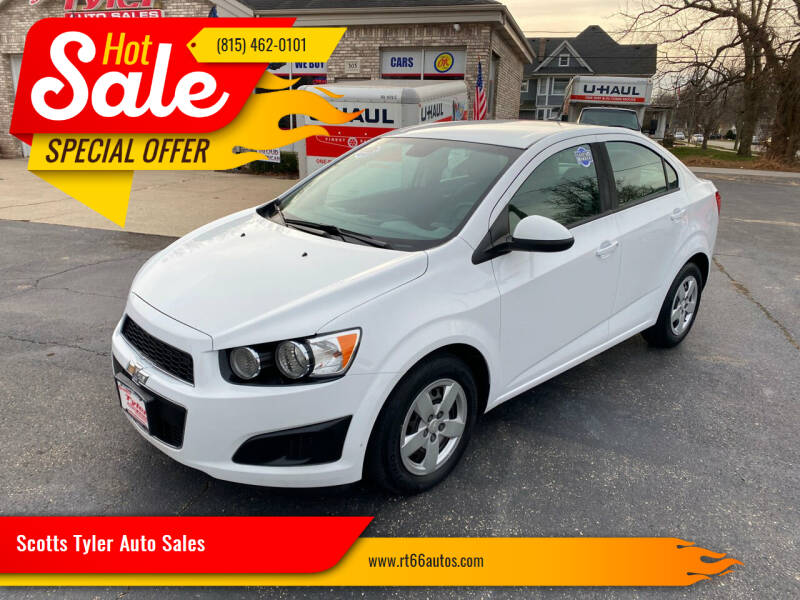 2013 Chevrolet Sonic for sale at Scotts Tyler Auto Sales in Wilmington IL
