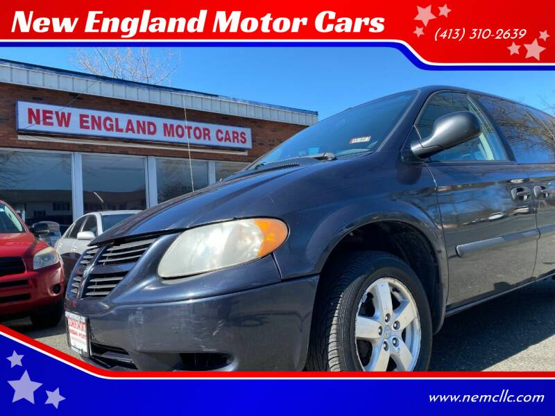 2007 Dodge Grand Caravan for sale at New England Motor Cars in Springfield MA