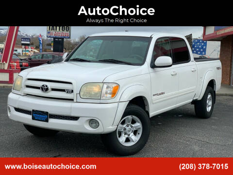2006 Toyota Tundra for sale at AutoChoice in Boise ID