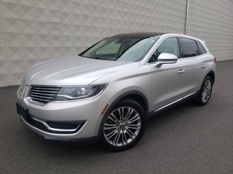 2016 Lincoln MKX for sale at Positive Auto Sales, LLC in Hasbrouck Heights NJ