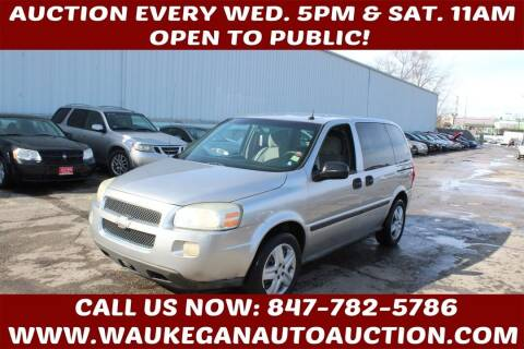 2006 Chevrolet Uplander for sale at Waukegan Auto Auction in Waukegan IL