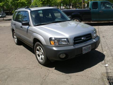 2005 Subaru Forester for sale at D & M Auto Sales in Corvallis OR
