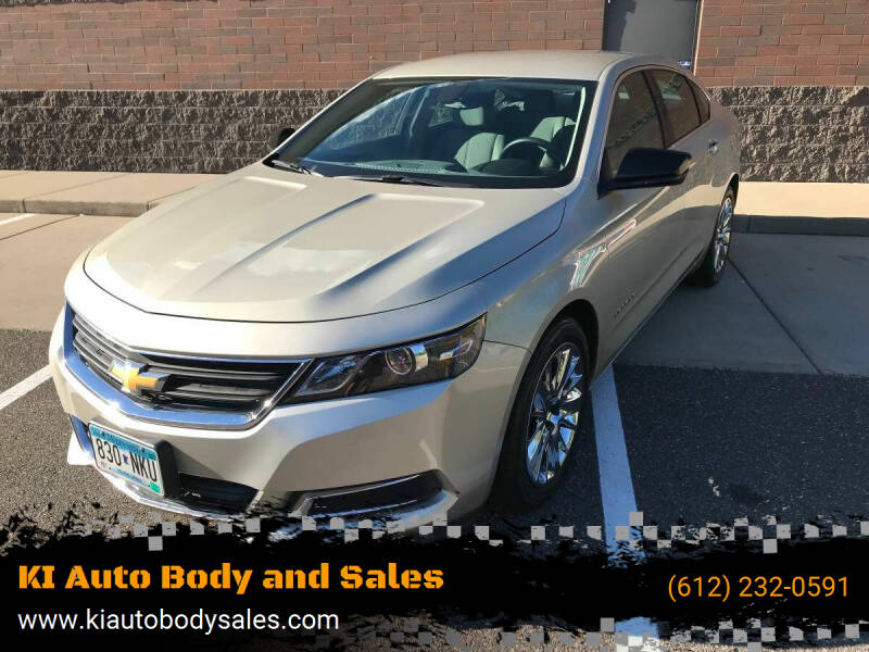 2014 Chevrolet Impala for sale at KI Auto Body and Sales in Lino Lakes MN