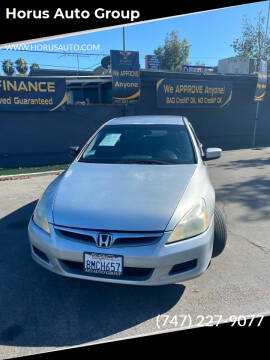 2006 Honda Accord for sale at Alliance Auto Group Inc in Fullerton CA