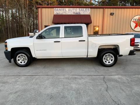 2014 Chevrolet Silverado 1500 for sale at Daniel Used Auto Sales in Dallas GA