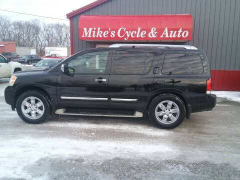2010 Nissan Armada for sale at MIKE'S CYCLE & AUTO in Connersville IN