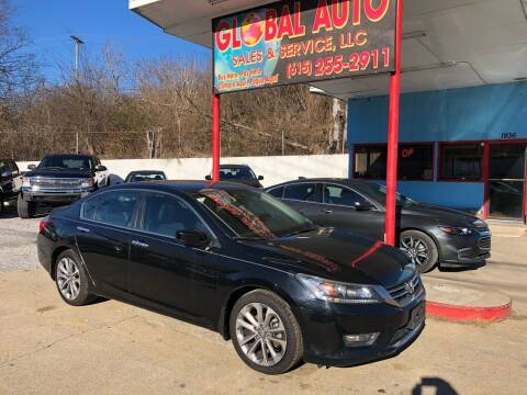 2013 Honda Accord for sale at Global Auto Sales and Service in Nashville TN