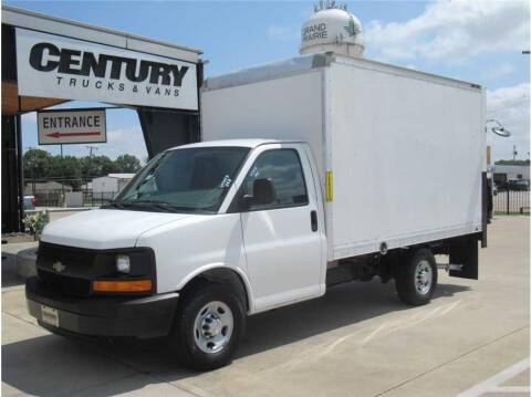 2016 Chevrolet Express Cutaway for sale at CENTURY TRUCKS & VANS in Grand Prairie TX