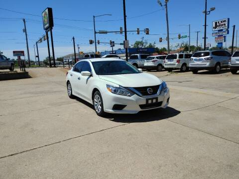 2017 Nissan Altima for sale at Southwest Sports & Imports in Oklahoma City OK