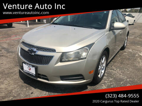 2014 Chevrolet Cruze for sale at Venture Auto Inc in South Gate CA