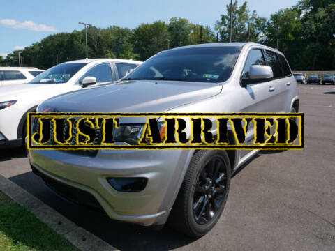 2018 Jeep Grand Cherokee for sale at BRYNER CHEVROLET in Jenkintown PA
