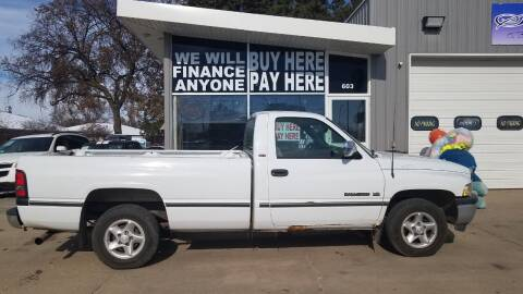 1997 Dodge Ram Pickup 1500 for sale at STERLING MOTORS in Watertown SD