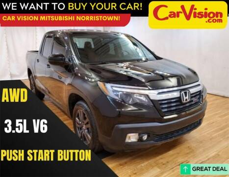 2019 Honda Ridgeline for sale at Car Vision Mitsubishi Norristown in Norristown PA