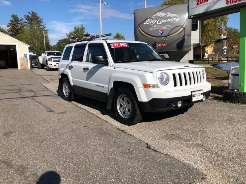 2014 Jeep Patriot for sale at Giguere Auto Wholesalers in Tilton NH