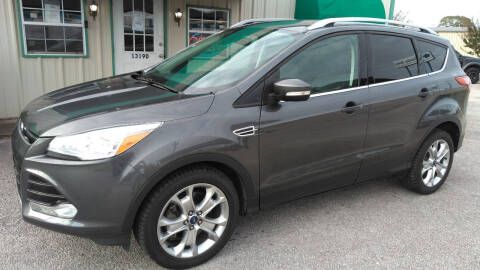 2015 Ford Escape for sale at Haigler Motors Inc in Tyler TX