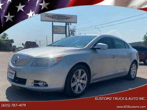 2012 Buick LaCrosse for sale at Kustomz Truck & Auto Inc. in Rapid City SD