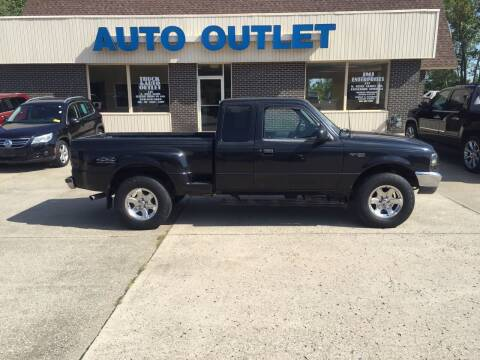 2000 Ford Ranger for sale at Truck and Auto Outlet in Excelsior Springs MO
