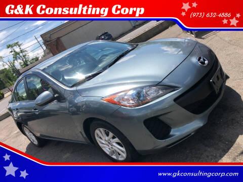 2013 Mazda MAZDA3 for sale at G&K Consulting Corp in Fair Lawn NJ